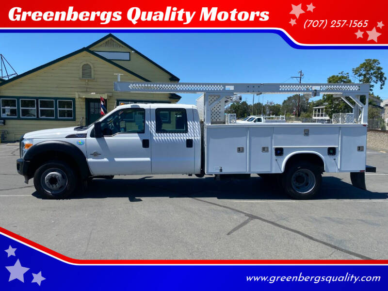 2012 Ford F-550 Super Duty for sale at Greenbergs Quality Motors in Napa CA