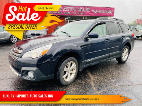 2013 Subaru Outback for sale at LUXURY IMPORTS AUTO SALES INC in North Branch MN