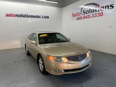2003 Toyota Camry Solara for sale at Auto Solutions in Warr Acres OK