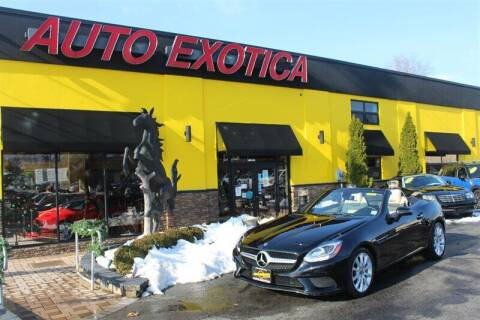 2018 Mercedes-Benz SLC for sale at Auto Exotica in Red Bank NJ