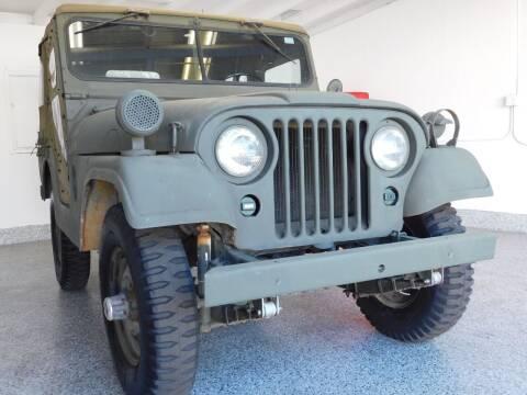 1954 Willys Jeep for sale at Milpas Motors in Santa Barbara CA