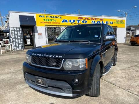 2013 Land Rover Range Rover Sport for sale at Sam's Auto Sales in Houston TX