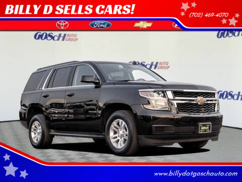 2020 Chevrolet Tahoe for sale at BILLY D SELLS CARS! in Temecula CA