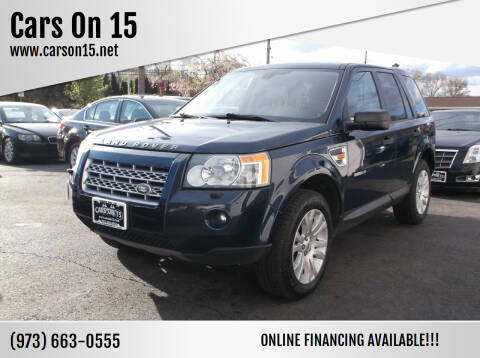 2008 Land Rover LR2 for sale at Cars On 15 in Lake Hopatcong NJ