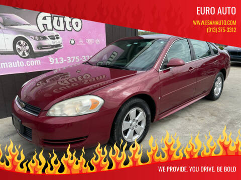 2009 Chevrolet Impala for sale at Euro Auto in Overland Park KS
