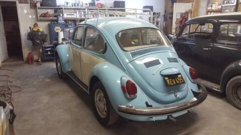 1971 Volkswagen Super Beetle for sale at Classic Car Deals in Cadillac MI