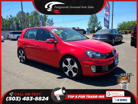 2012 Volkswagen GTI for sale at Universal Auto Sales in Salem OR