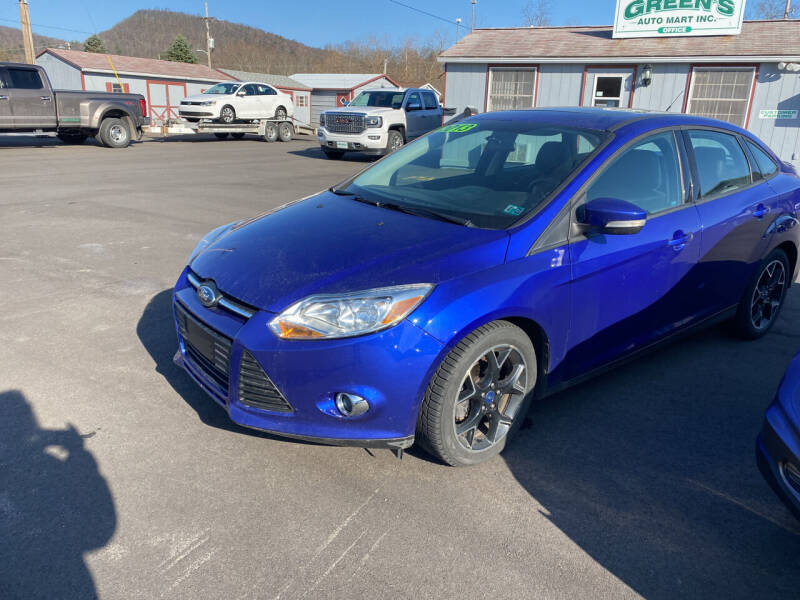 2013 Ford Focus for sale at Greens Auto Mart Inc. in Wysox PA