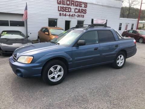 2006 Subaru Baja for sale at George's Used Cars Inc in Orbisonia PA