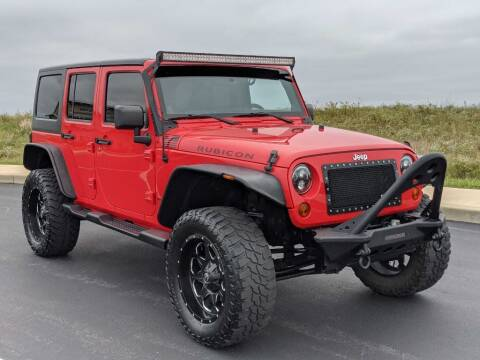 2013 Jeep Wrangler Unlimited for sale at Bob Walters Linton Motors in Linton IN
