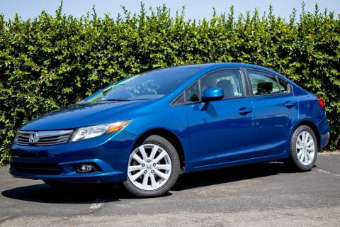 2012 Honda Civic for sale at 605 Auto  Inc. in Bellflower CA