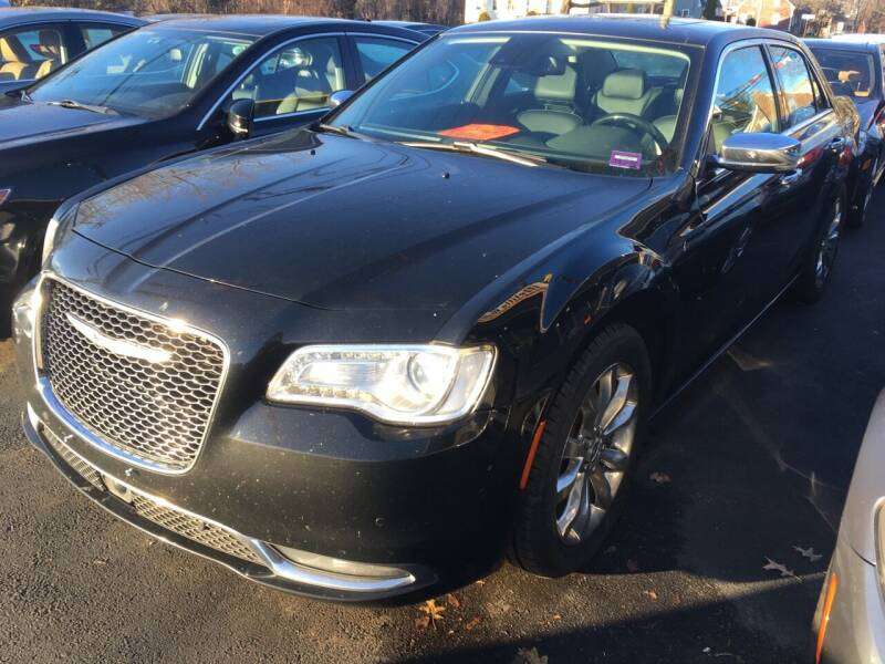 2015 Chrysler 300 for sale at MELILLO MOTORS INC in North Haven CT