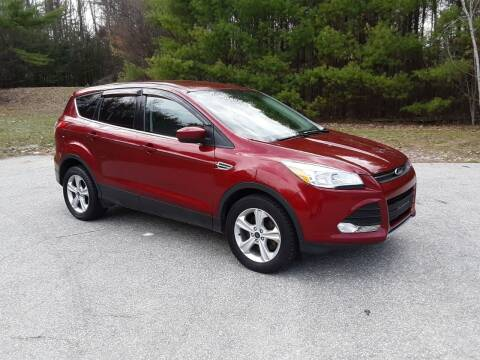 2014 Ford Escape for sale at H P M Sales in Goffstown NH