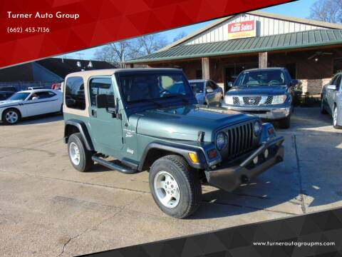 2000 Jeep Wrangler for sale at Turner Auto Group in Greenwood MS