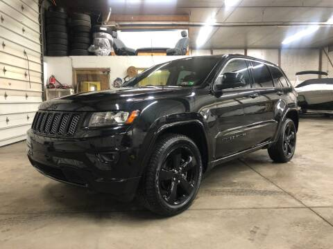 2015 Jeep Grand Cherokee for sale at T James Motorsports in Gibsonia PA