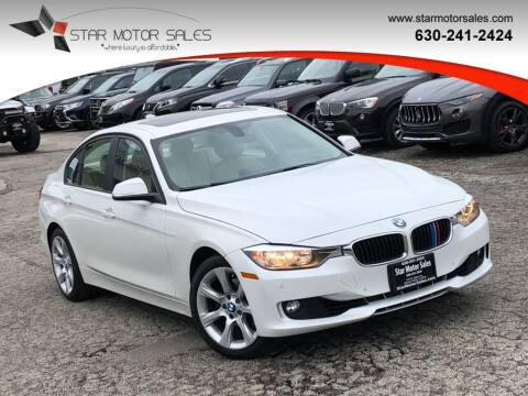 2015 BMW 3 Series for sale at Star Motor Sales in Downers Grove IL
