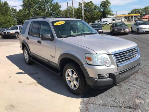 2006 Ford Explorer for sale at Huggins Auto Sales in Ottawa OH