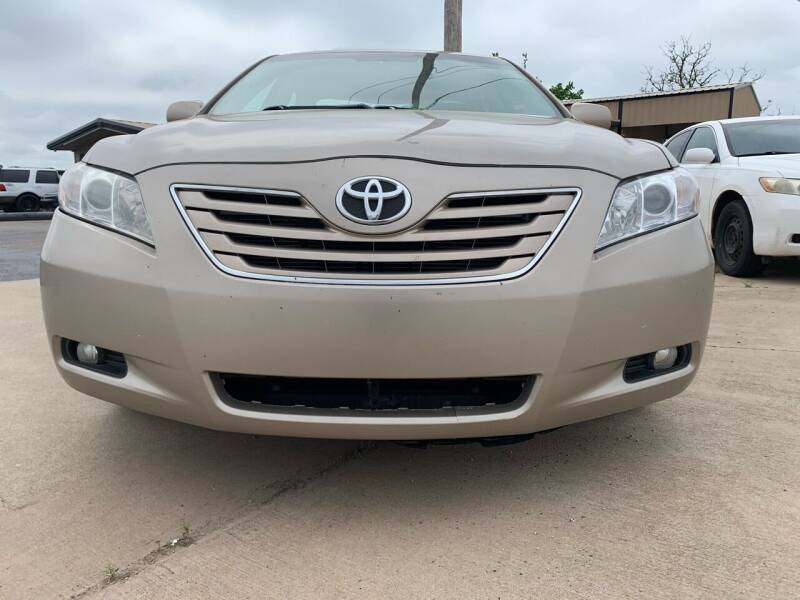 2008 Toyota Camry for sale at Eagle International Autos Inc in Moore OK