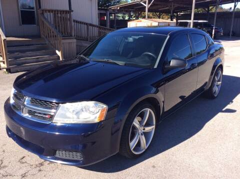 2013 Dodge Avenger for sale at OASIS PARK & SELL in Spring TX