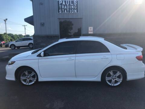2013 Toyota Corolla for sale at Ron's Auto Sales (DBA Paul's Trading Station) in Mount Juliet TN
