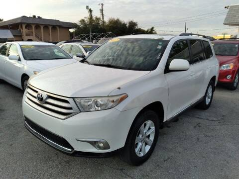 2012 Toyota Highlander for sale at P S AUTO ENTERPRISES INC in Miramar FL