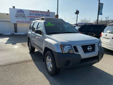 2011 Nissan Xterra for sale at Choice Motors of Salt Lake City in West Valley  City UT