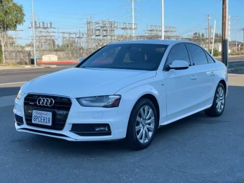 2015 Audi A4 for sale at California Auto Deals in Sacramento CA