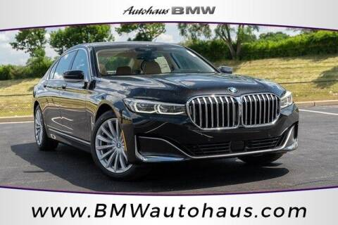 2022 BMW 7 Series for sale at Autohaus Group of St. Louis MO - 3015 South Hanley Road Lot in Saint Louis MO