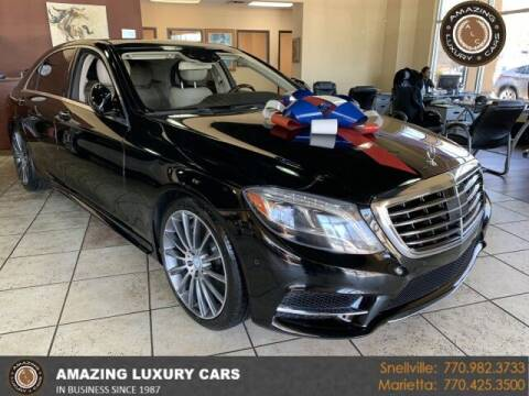 2014 Mercedes-Benz S-Class for sale at Amazing Luxury Cars in Snellville GA