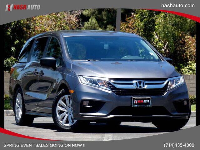 2019 Honda Odyssey for sale in Costa Mesa, CA