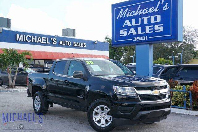 2020 Chevrolet Colorado for sale at Michael's Auto Sales Corp in Hollywood FL
