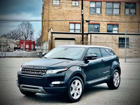 2013 Land Rover Range Rover Evoque Coupe for sale at ARCH AUTO SALES in St. Louis MO