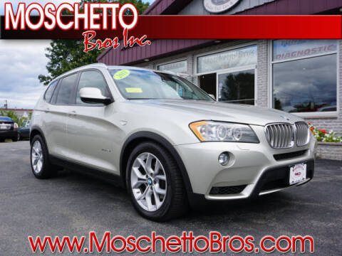 2011 BMW X3 for sale at Moschetto Bros. Inc in Methuen MA