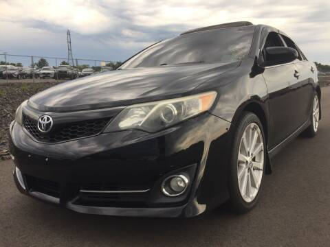 2012 Toyota Camry for sale at New Jersey Auto Wholesale Outlet in Union Beach NJ