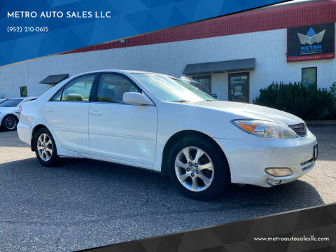 2004 Toyota Camry for sale at METRO AUTO SALES LLC in Blaine MN