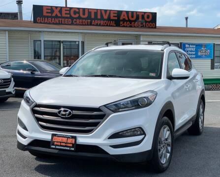 2016 Hyundai Tucson for sale at Executive Auto in Winchester VA