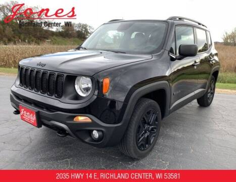 2019 Jeep Renegade for sale at Jones Chevrolet Buick Cadillac in Richland Center WI