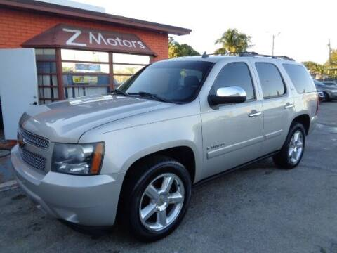 2008 Chevrolet Tahoe for sale at Z MOTORS INC in Hollywood FL