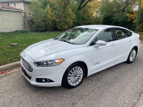 2016 Ford Fusion Hybrid for sale at Buy A Car in Chicago IL