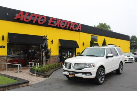 2017 Lincoln Navigator for sale at Auto Exotica in Red Bank NJ