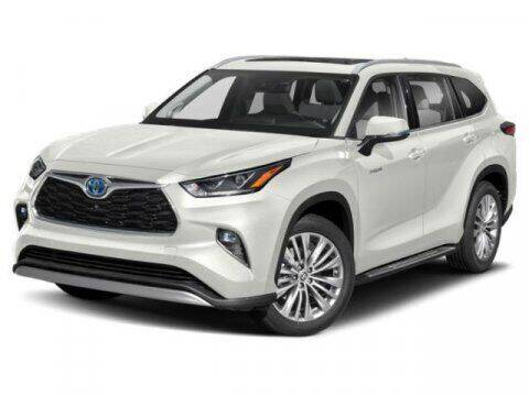 2021 Toyota Highlander Hybrid for sale at BEAMAN TOYOTA in Nashville TN
