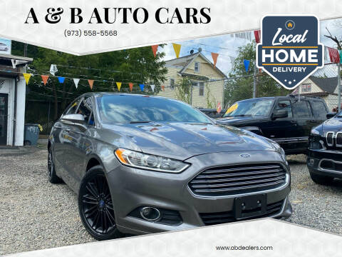 2014 Ford Fusion for sale at A & B Auto Cars in Newark NJ