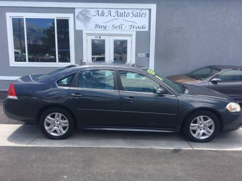 2011 Chevrolet Impala for sale at A&A Auto Sales in Orem UT