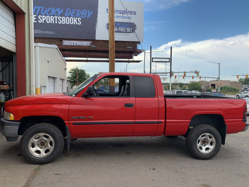 2000 Dodge Ram Pickup 1500 for sale at Highbid Auto Sales & Service in Arvada CO