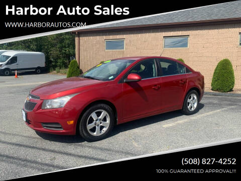 2011 Chevrolet Cruze for sale at Harbor Auto Sales in Hyannis MA