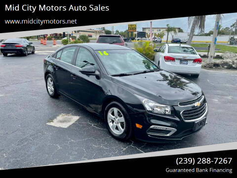 2016 Chevrolet Cruze Limited for sale at Mid City Motors Auto Sales in Fort Myers FL