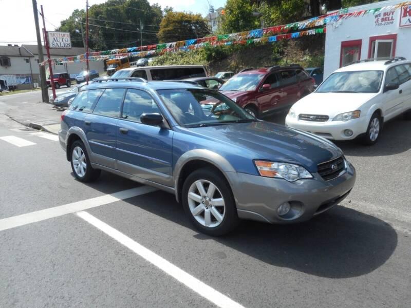 2006 Subaru Outback for sale at Ricciardi Auto Sales in Waterbury CT