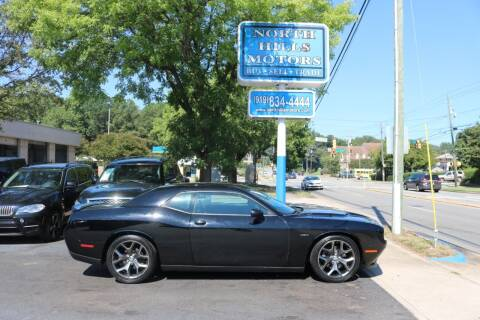 2015 Dodge Challenger for sale at North Hills Motors in Raleigh NC