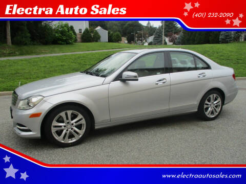 2013 Mercedes-Benz C-Class for sale at Electra Auto Sales in Johnston RI
