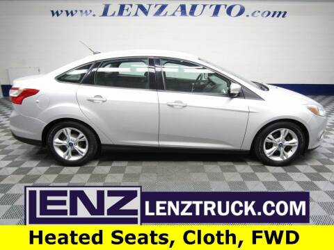 2014 Ford Focus for sale at LENZ TRUCK CENTER in Fond Du Lac WI
